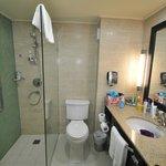 Geräumige Badezimmer