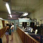 Visiting the newspaper Epitaph Museum