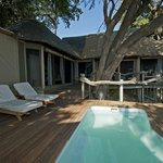 Plunge pool by the room