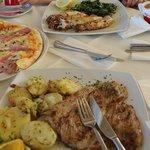 """Обед в ресторане """"Берлин"""", Макарска"""