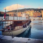 Port de Nice au coucher de soleil