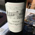 Wine from Chateau Franc Grace-Dieu