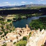 Vista de Miravet desde el castillo