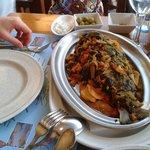 Gilt-head fish mallorcan style