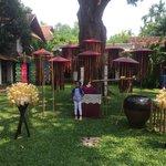 Songkran festival decoration
