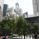 MOMA museum garden