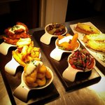 Just a sample of our delicious tapas tasters!!!