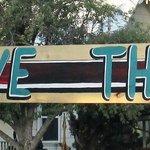 New Drive Thru sign