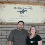 Mark & Teresa, Pony Expresso owners