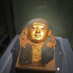 Faccia si sarcofago Egizio