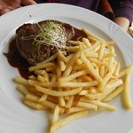 fillet with french fries