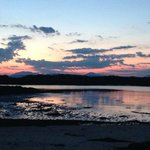 Sunset over Arisaig late July 2014