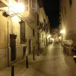 hotel is located on a lovely quiet street