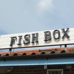 The Fish Box sign