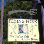 See, it really is the Flying Fork.