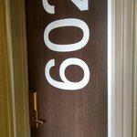 Loved the door numbers