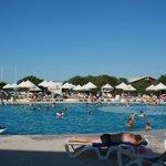 Vu générale de la piscine