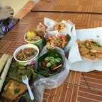 some of the street food sold here