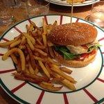 Burger poulet et fromage de brebis