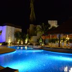 Beautiful Azul Beach Hotel by Night