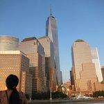 NEWEST WORLD TRADE CENTER BUILDING (tallest bldg in back)