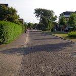 Hauptstraße vor dem Hotel