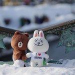"""兔兔&熊大也懂得在這兒搞浪漫=.="""""""