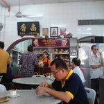 Inside of Nam Heong Coffee Shop