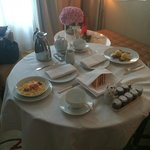 Room service breakfast - amazing