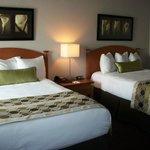 Chambres avec 2 lits doubles