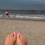 Beach @ resort.