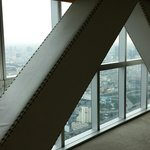 Views from presidential suite obscured by these structures. They were NOT in the pictures on the