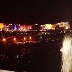 Vista do quarto do Hard Rock Hotel & Casino Las Vegas