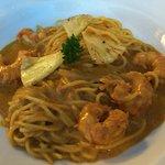 prawn spaghetti starter