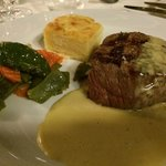 fillet steak in champagne sauce