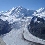 Jungfraujoch glacier