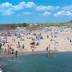 Bude beach, 15 min drive from Bideford Bay