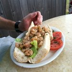 Fresh shrimp po-boy!