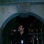 Nicodemus sharing the haunted history of Savannah...