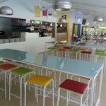 Sala interna del ristorante Adriatico