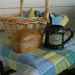 Home Made Bread Basket delivered each morning