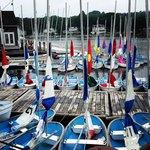 Children's sailing class