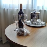 Included in our deal. Chocs & wine