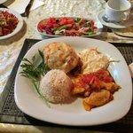Dinner at Akay