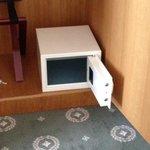 unattached safety deposit box.