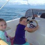 Speeding on Lake Garda