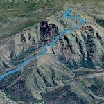 Vista del track del GPS Garmin Etrex20