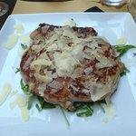 Steak with Parmesan and Rocket