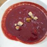Gazpacho al toque di ciliegia