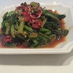 Spinach chilli & sesame